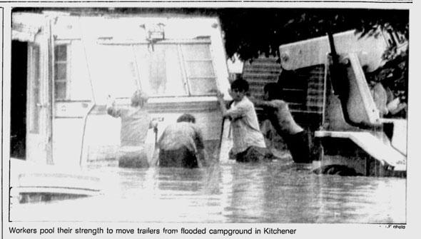 kitchener flood 1986
