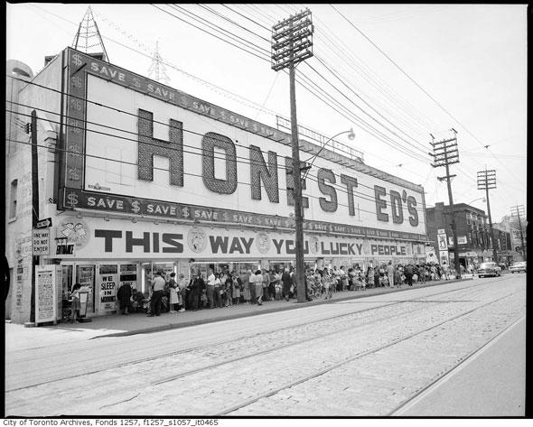 honest ed's archive