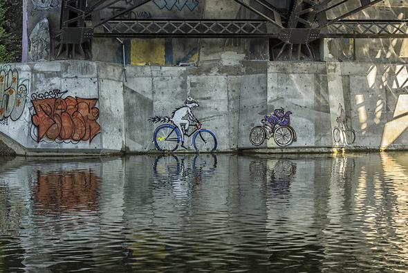 Don River graffiti