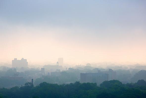 morning fog toronto