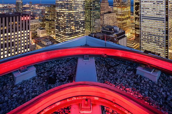 Toronto roof