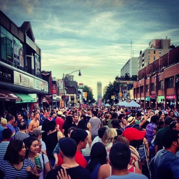 Pride Crowds