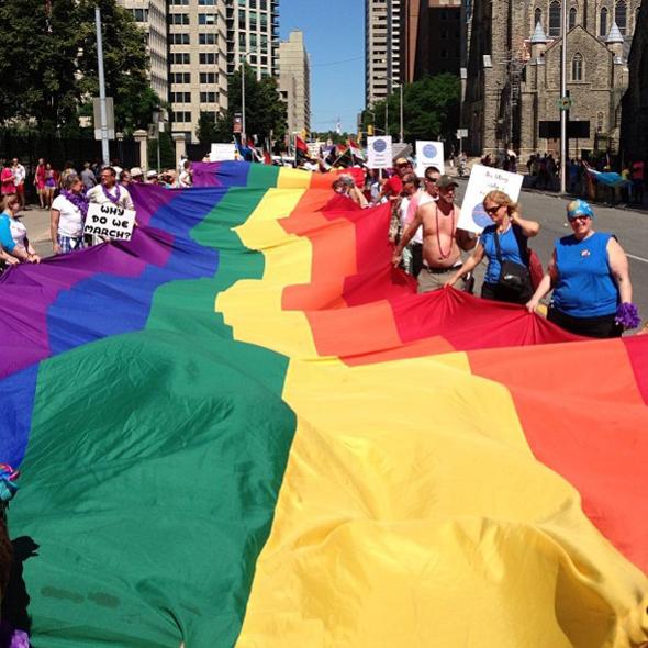 Pride Flag Toronto