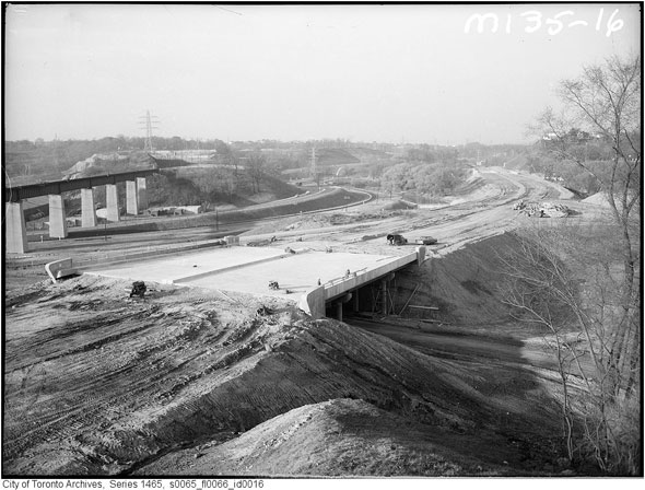 Dvp Closure Gallery: That Time Toronto Opened The Don Valley Parkway