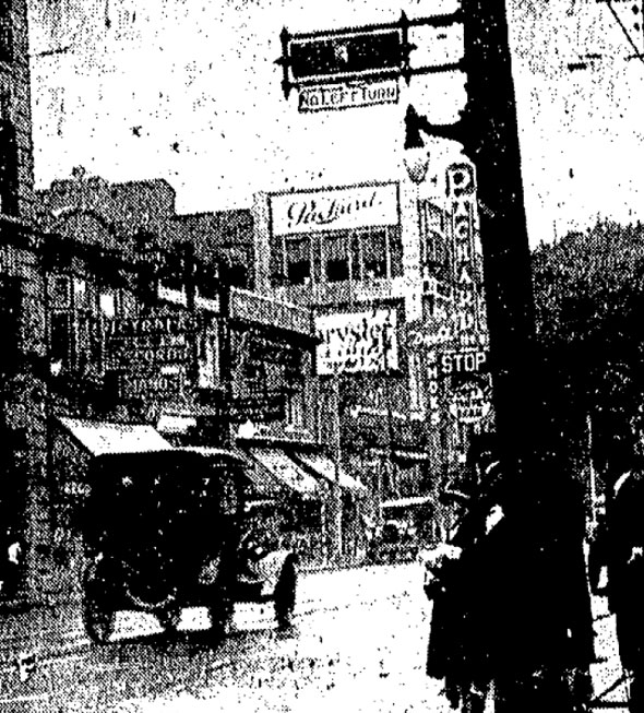 toronto first traffic lights