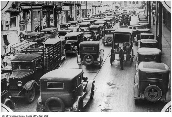 the traffic congestion problem in toronto Traffic congestion problems (70% of commuters use cars) readers can access the full version of oecd territorial reviews: toronto.
