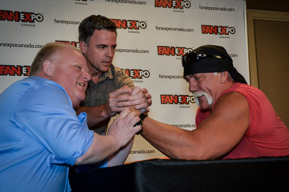 Rob Ford Arm Wrestling