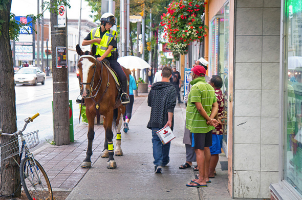 Mounted Police Toronto