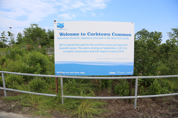 Corktown Common Waterfront Toronto