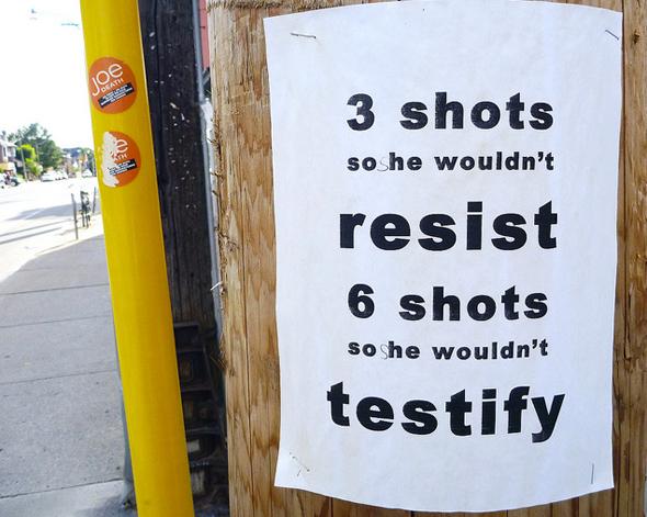 Sammy Yatim Poster