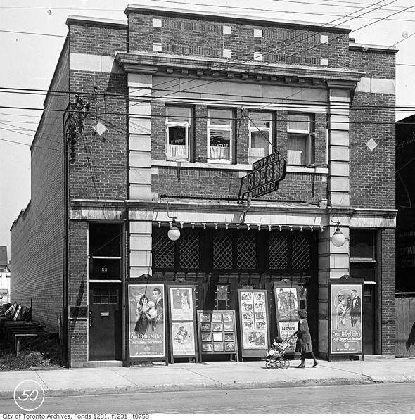 What Cinemas Used To Look Like In Toronto