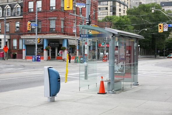 Toronto garbage bin