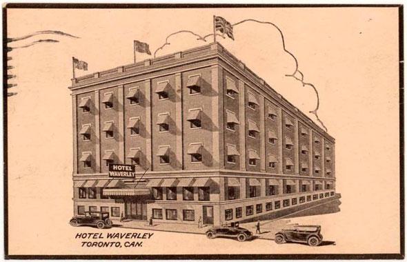 toronto hotel waverly