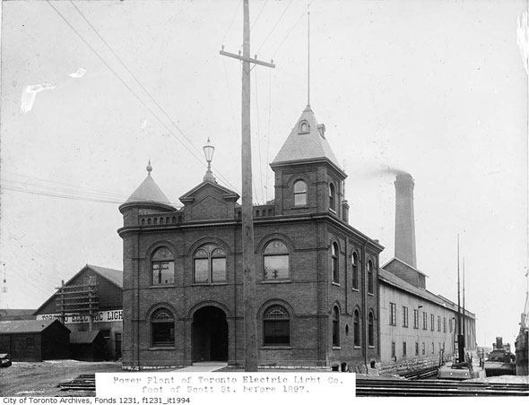 toronto electric light company
