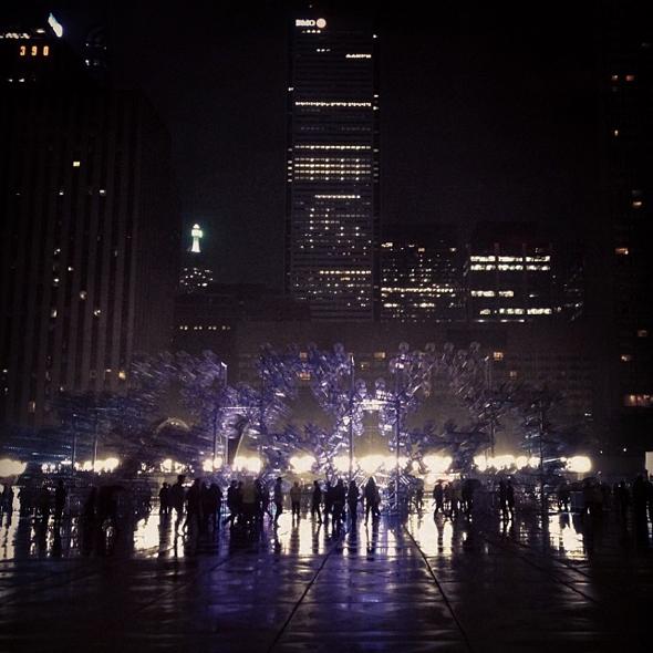 Nuit Blanche 2013 Instagram
