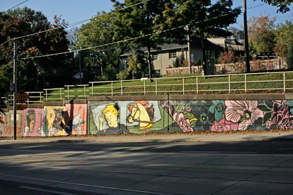 Bathurst Street Mural