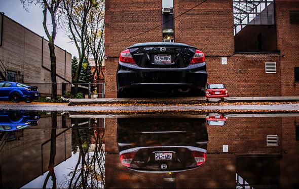 Toronto puddle