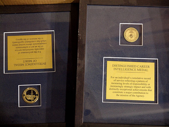 CIA medals