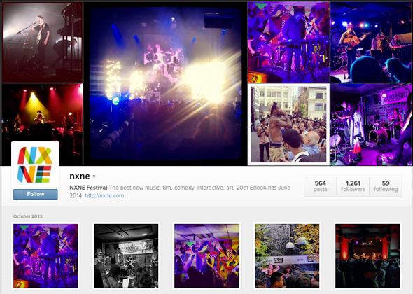 Toronto Music Instagram