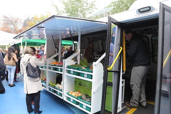 Mobile food market Toronto