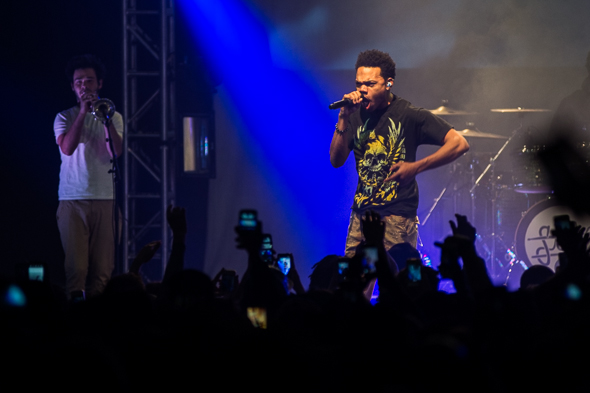 Chance the Rapper at the Danforth Music Hall