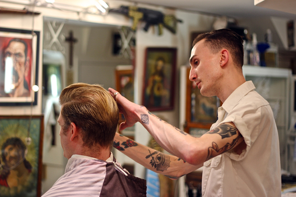 Brown S Old Fashioned Barber Shop