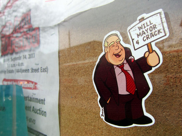 Rob Ford sticker