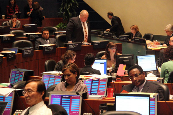 City Council Rob Ford