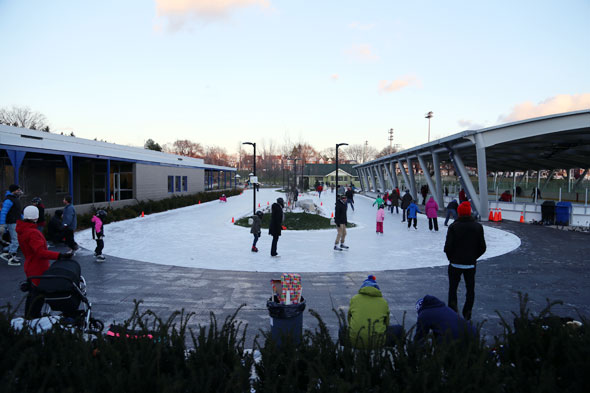 Greenwood Park skating rink