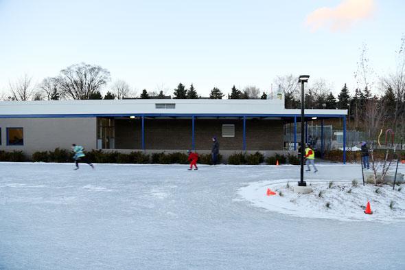 Greenwood rink Toronto