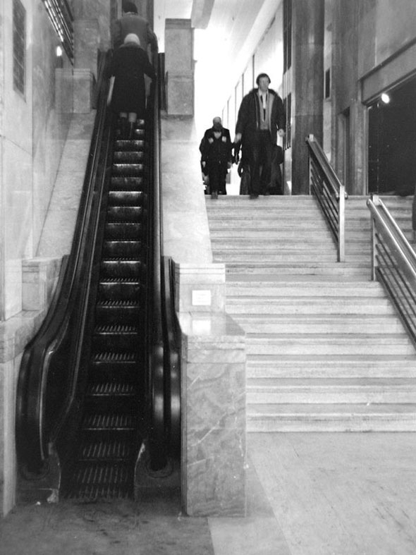 A Brief History Of The First Escalator In Toronto
