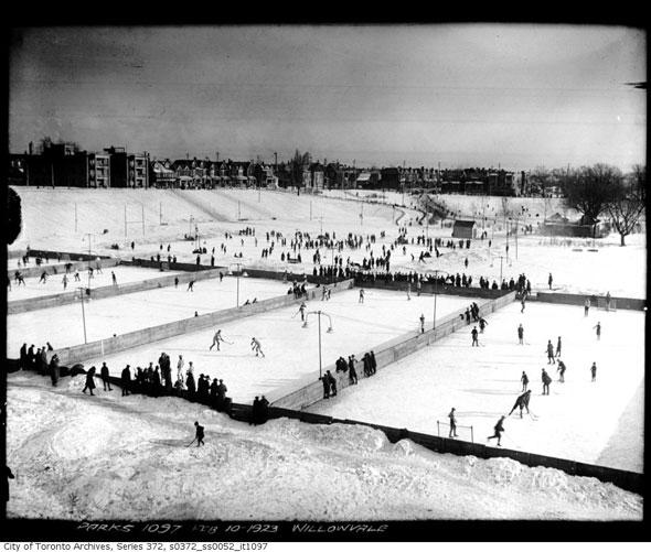toronto ice skating