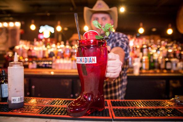 boots bourbon saloon toronto
