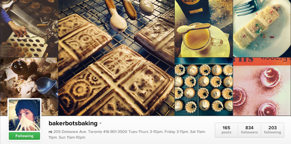 Bakerbots Instagram