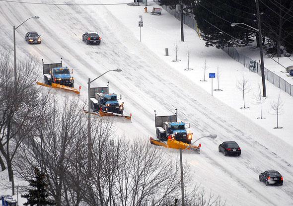 toronto snow ploughs