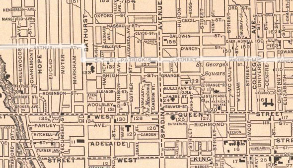 5 Toronto Streets That Used To Have Different Names
