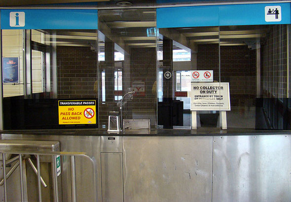 ttc ticket booth