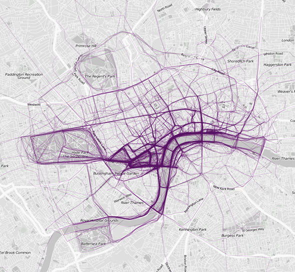 London run map