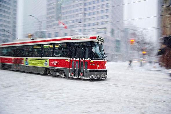 toronto snow 2008