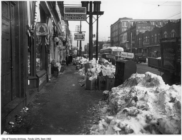 toronto 1938 winter