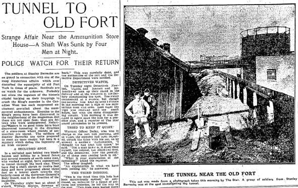 toronto fort york tunnel