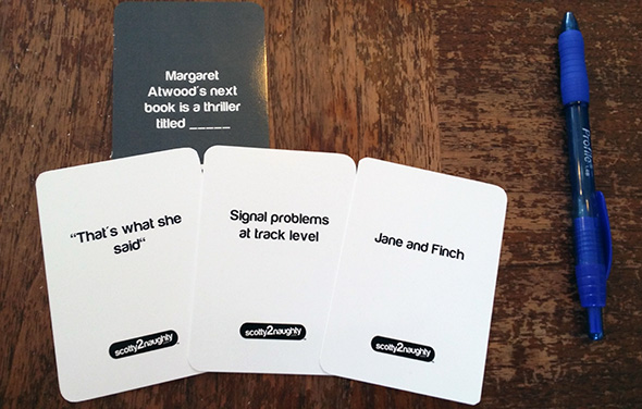 Cards Against Humanity Toronto