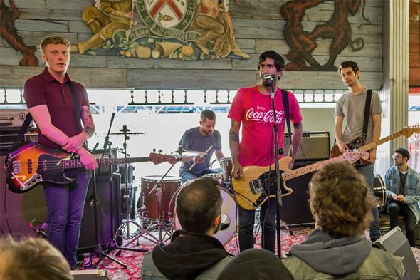 Greys band Toronto