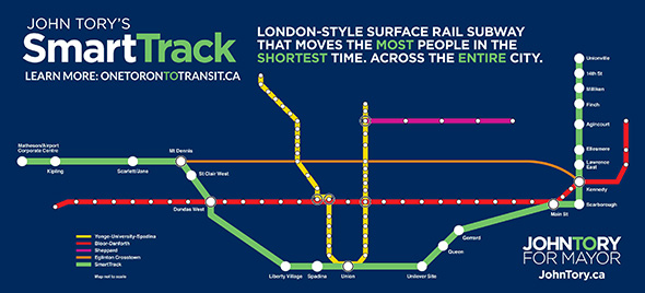 John Tory Transit Plan