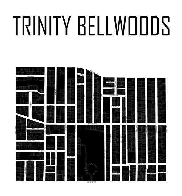 trinity bellwoods map
