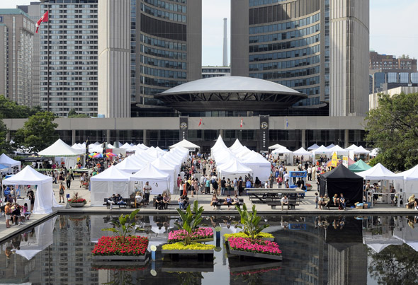 outdoor art fair toronto