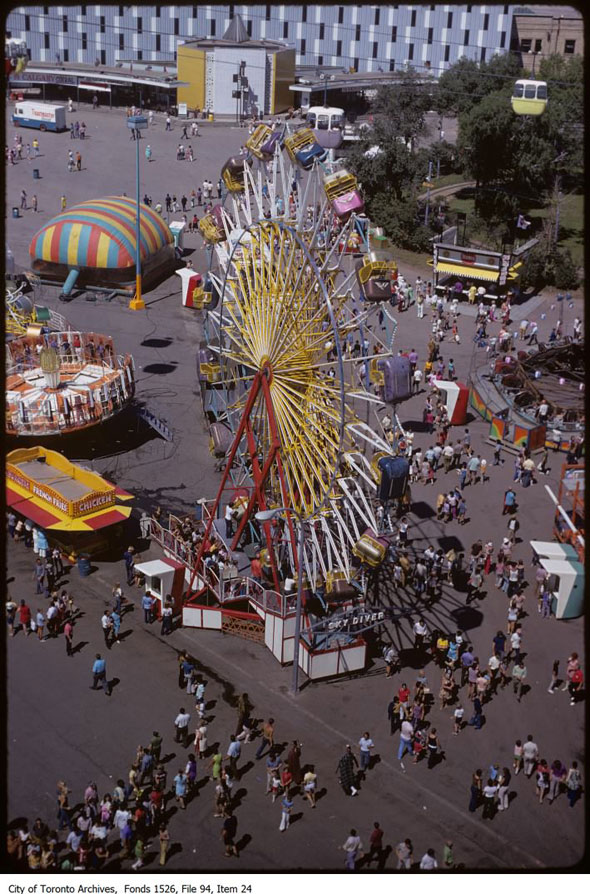 Exhibition Stand Car : What the cne looked like in s
