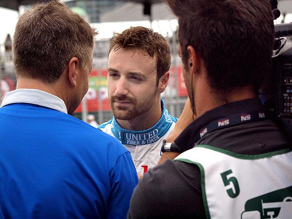 James Hinchcliffe at the Toronto Honda Indy