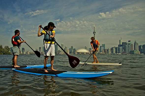 stand up paddle toronto
