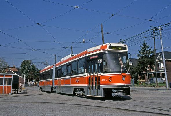 toronto alrv streetcar